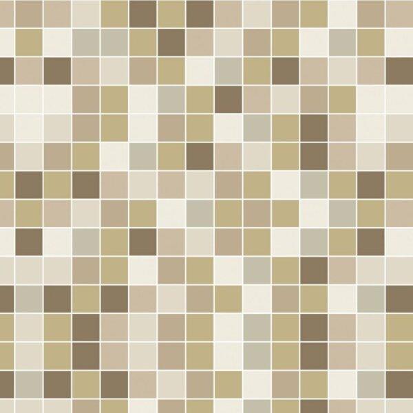 Pastilhas adesivas para Decoração de ambientes miscelânea em tons claros