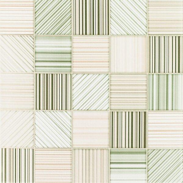 Pastilhas Adesivas em listrada em verde claro decoração de ambientes