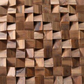 Pastilhas Simples Adesiva para decoração de ambientes estilo madeira em tons de marrom