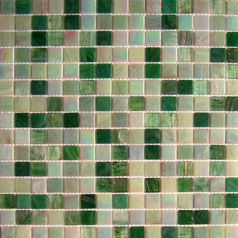 Pastilhas Adesivas Tons de Verde miscelânea