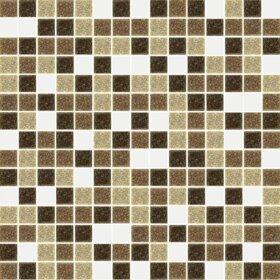 Pastilhas Simples Adesiva miscelânea de cores em tons de marrom