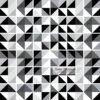 Pastilha simples adesiva multiformas nos tons de preto, cinza e branco. Para decoração de ambientes.