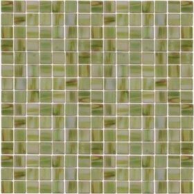 Pastilhas Adesivas Simples em tons variados de verdes para decoração de ambientes.