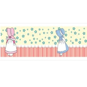 Faixas/Bordas Infantis de Meninas com Flores