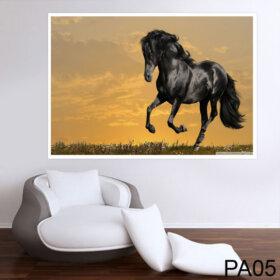 Painel para Parede Adesivo de Cavalo para Quarto e Sala