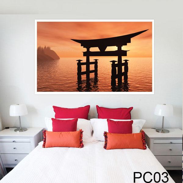 Painel para Parede Adesivo Paisagem para quarto e sala