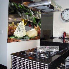Painel para Cozinha Taça de vinho