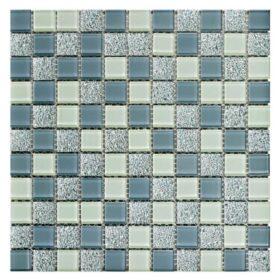 Pastilha Adesivas em tons de azul claro e médio miscelânea para decorar paredes e ambientes.