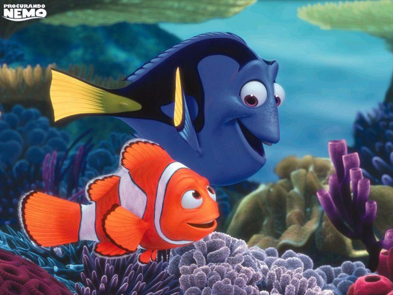 Procurando o Nemo Adesivo